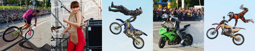 Шоу Adrenaline FMX Rush в Воронеже