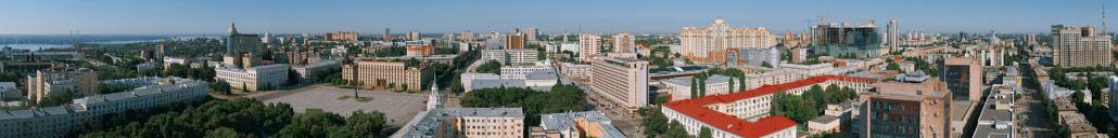 Гигапиксельная панорама Воронежа