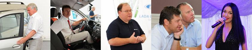 Презентация кроссовой линейки LADA