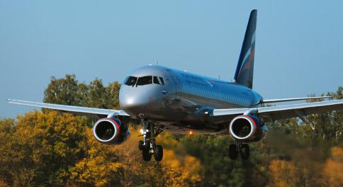 Суперджет-100 компании «Аэрофлот»