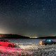 Сферическая панорама звездного неба
