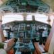 Интерьер кабины Ту-144