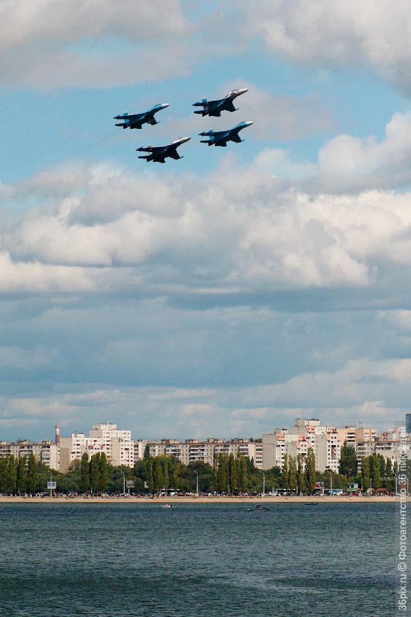 Соколы России на 425-летии Воронежа