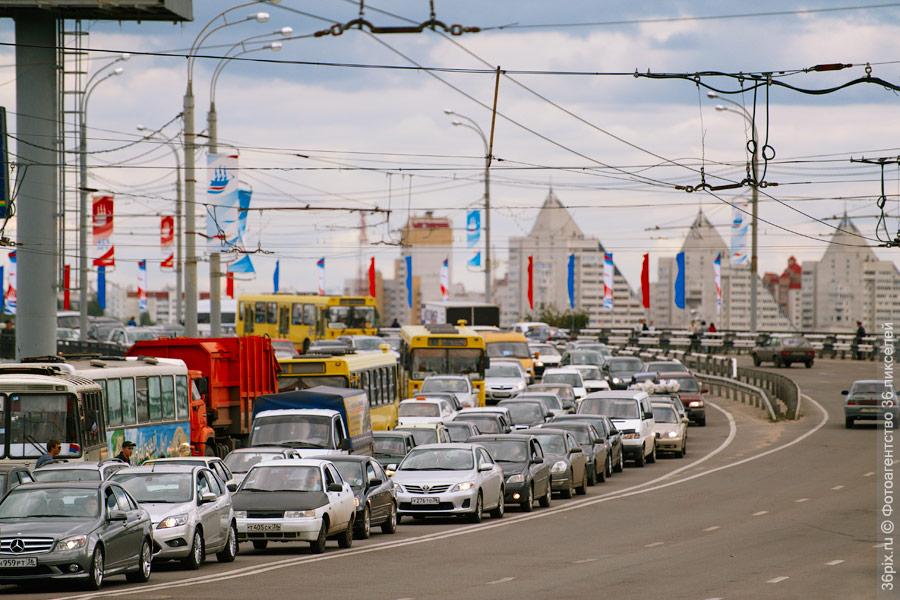 Воронежские пробки