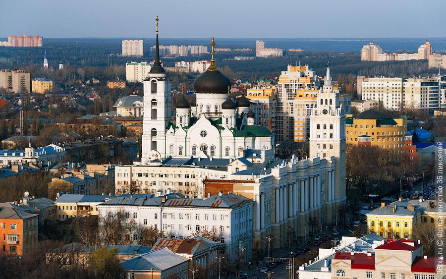 ЮВЖД и Благовещенский кафедральны собор