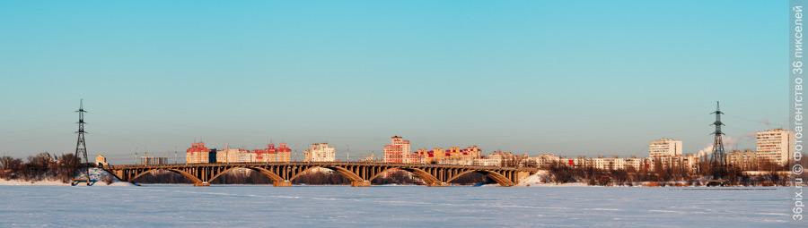 ВоГРЭСовский мост. Воронеж